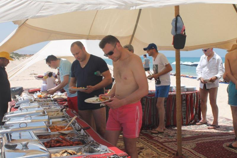 beach party Muscat Oman