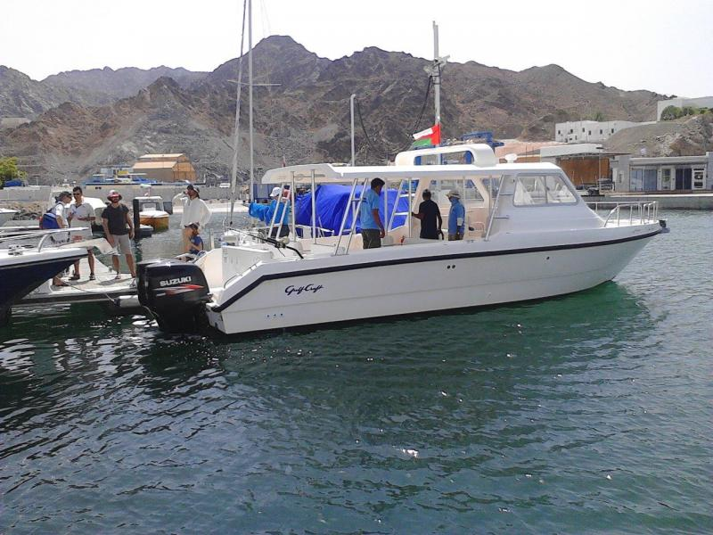 Fishing in Muscat Oman